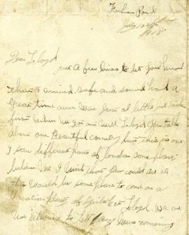 Letter from Weldon Morash to his brother Lloyd dated 10 July 1918