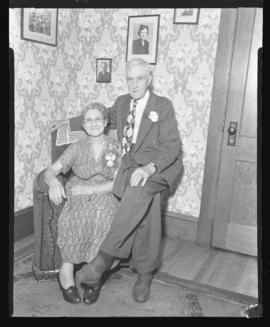 Photograph of Mr. and Mrs. MacPherson on their 50th Anniversary