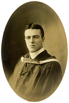 Portrait of Matthew George Burris : Class of 1910