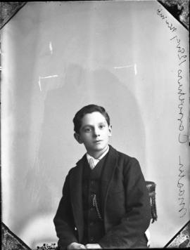 Photograph of  Mrs. Carruther's son