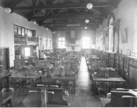 Photograph of the Macdonald library reading room