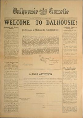 Dalhousie Gazette, Volume 59, Issue 1