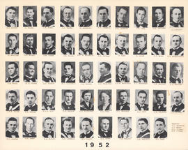 Composite Photograph of the Faculty of Medicine - Class of 1952