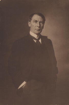 Photograph of Frank Darling, Architect of Library