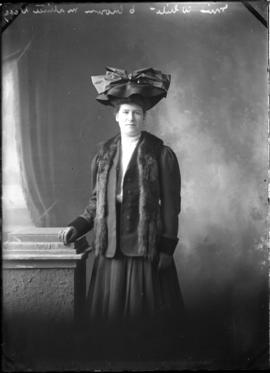 Photograph of Miss White