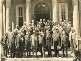 Photograph of the first conference on Maritime university federation