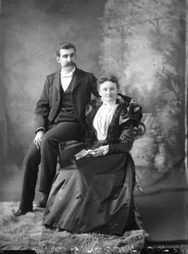 Photograph of  Mr. and Mrs.D. M. Grant
