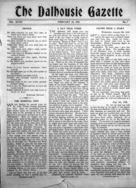 The Dalhousie Gazette, Volume 48, Issue 7