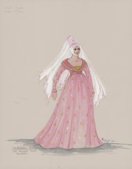 Costume design for Allison