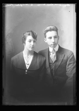 Photograph of Mr. & Mrs. Roy Wooden