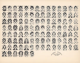 Composite photograph of the Faculty of Medicine - Second Year Class, 1978-1979