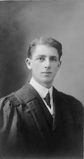 Photograph of George Evans Herman : Class of 1911