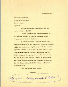 Correspondence between Thomas Head Raddall and Doubleday Canada Limited