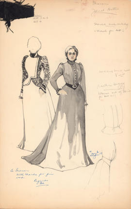 Costume design for Masha