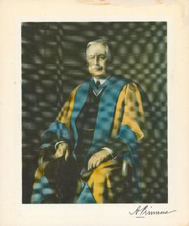 Portrait of Dr. Alexander John Primrose, BSc, L.L.D., Dean of Medicine at University of Toronto