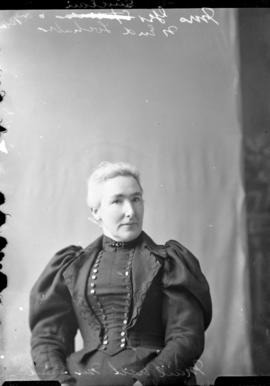 Photograph of Mrs. George Sinclair