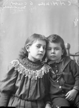 Photograph of C. H. Hinds' daughters