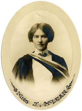 Portrait of Jean Augusta McLean : Class of 1914