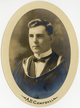 Portrait of Alexander Brown Campbell : Class of 1921