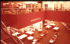 Photograph of McMaster University Health Science Library - view from second floor