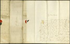 Letter from Mary Dobie to James Dinwiddie
