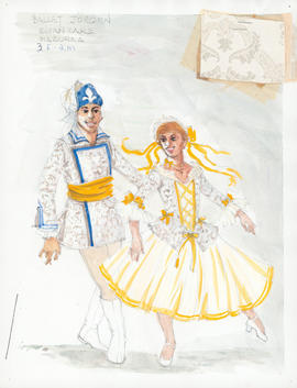 Costume design for Mazurka