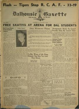 Dalhousie Gazette, Volume 74, Issue 12