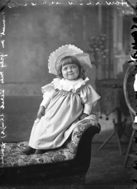 Photograph of Howard Cavanagh's daughter