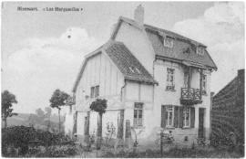 Postcard of the Les Marguerites, the house next to Weldon Morash's billet in Rixensart, Belgium
