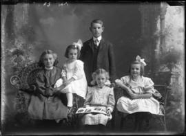 Photograph of the Himmelman family