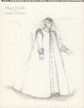 Costume design for Hanna Kennedy