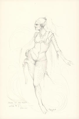 Costume design for Witch #1
