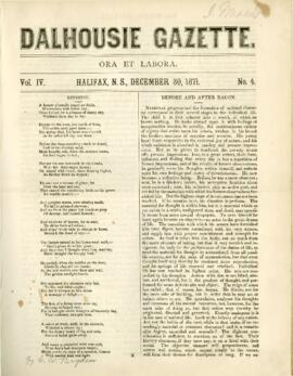 Dalhousie Gazette, Volume 4, Issue 4