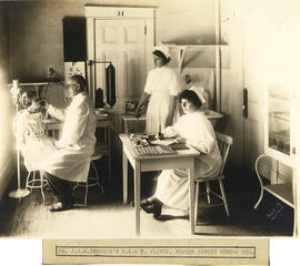 Photograph of Dr. J.A.M. Hemmeon's Ear, Nose, and Throat Clinic at Health Centre No. 1