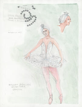 Costume design for Odette