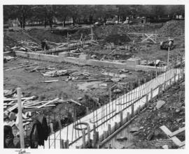 Sir James Dunn Science Building - Construction of the Foundation