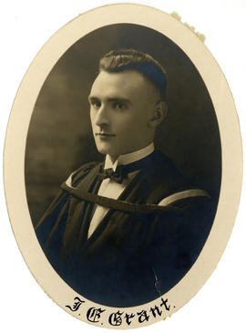 Portrait of James Edward Grant : Class of 1925