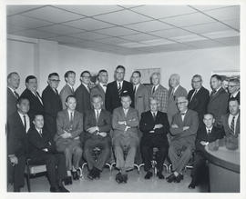 Photograph of the Executive Committee of the Medical Society of Nova Scotia, 1963-1964