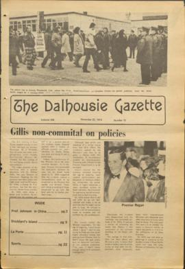 The Dalhousie Gazette, Volume 106, Issue 12