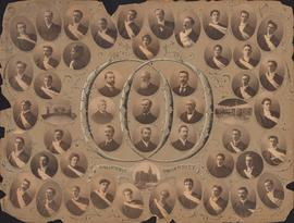 Photographic collage of the Dalhousie University Arts and Science faculty and class of 1900
