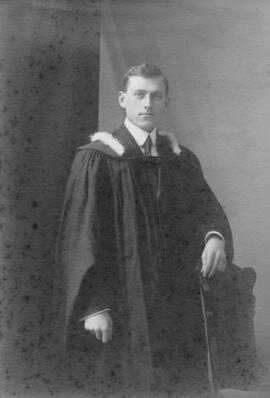 Photograph of Albert Ross : Class of 1910