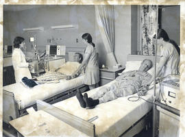 Photograph of Victoria General Hospital Department of Neurosurgery, Hemodialysis Unit [1974]