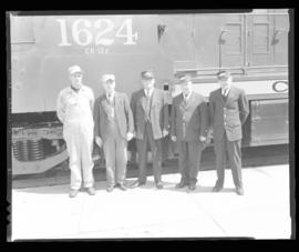 Photograph of C.N.R. Train Crew