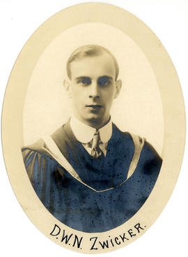 Portrait of Douglas William Norman Zwicker : Class of 1916