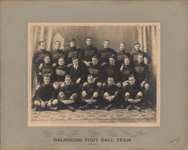 Photograph of Dalhousie Foot Ball Team - 1913