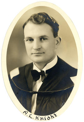 Portrait of A.L. Knight : Class of 1949