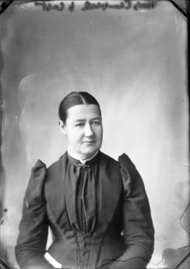 Photograph of Mrs. Martha Campbell