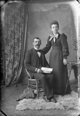 Photograph of Mr. Pat Phalen and lady friend
