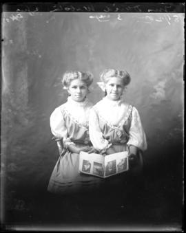 Photograph of Mrs. David Webster's daughters