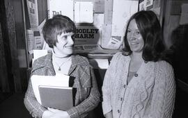 Photograph of Grace Tratt and Janet Hathaway